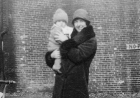Ann Ruscoe (nee O'Donnell) with baby-bob