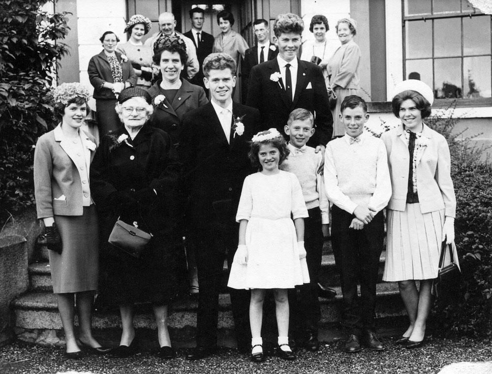 24:7:1963 Bill & Kathy wedding