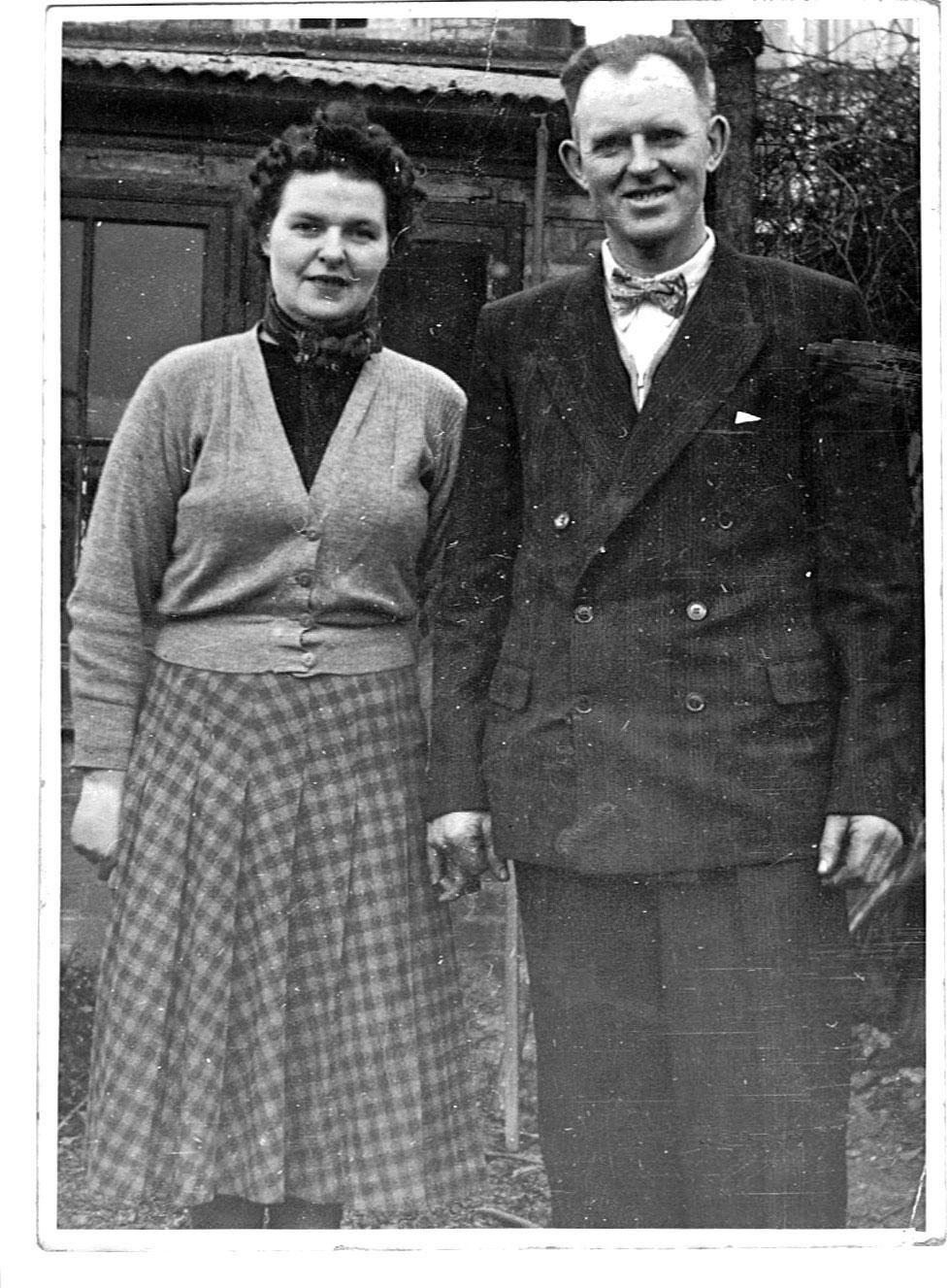 Auntie Bridie & Dad
